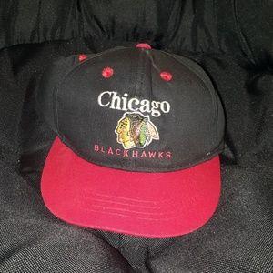 Vtg Chicago Blackhawks child's snapback | size os